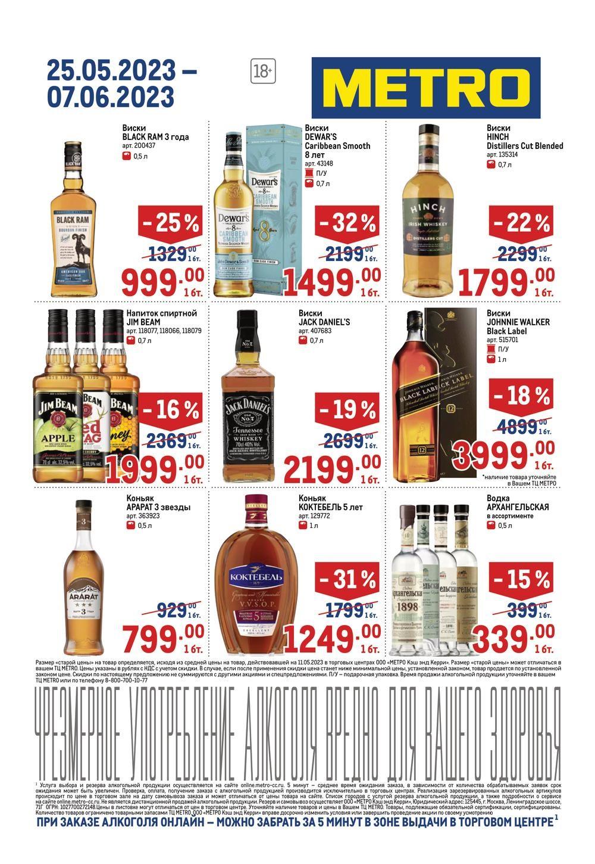 Метро Магазин Официальный Сайт Каталог Алкоголя